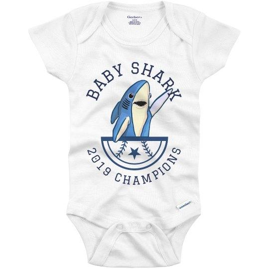 Baby Shark 2019 Championship Onesie
