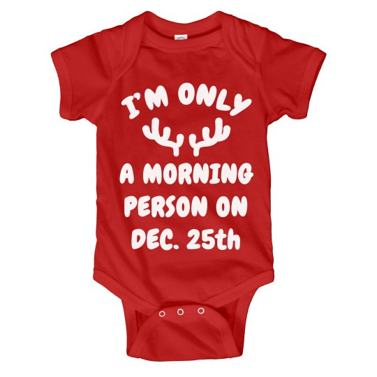 Baby's 1st Christmas Morning
