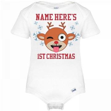 Baby's 1st Emoji Christmas