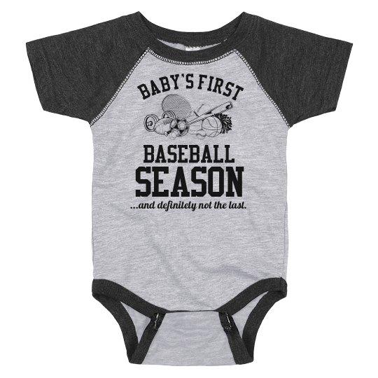 Baby's First Baseball Season