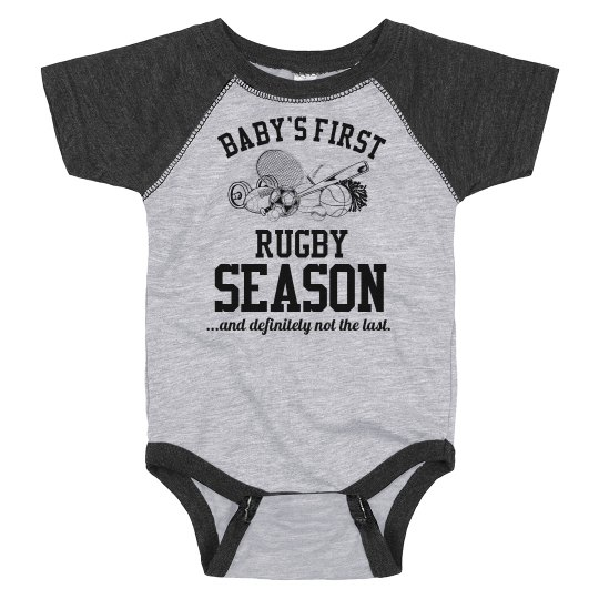 Baby's First Rugby Season