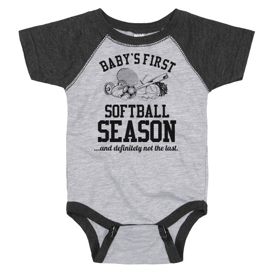 Baby's First Softball Season