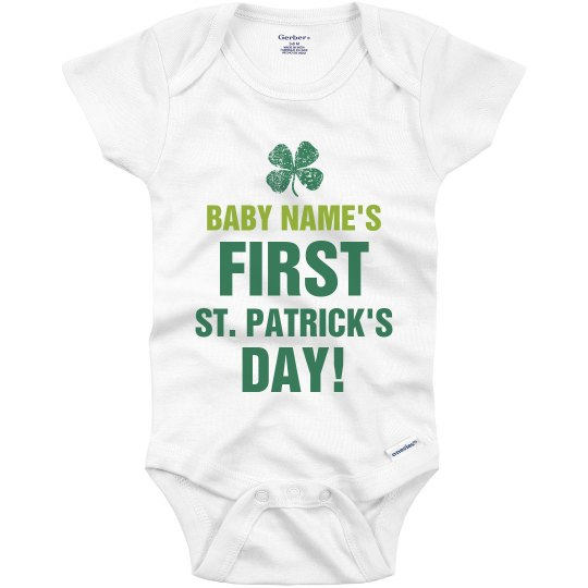 Baby's First St Patricks Day