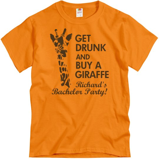 Bachelor Giraffe Hangover