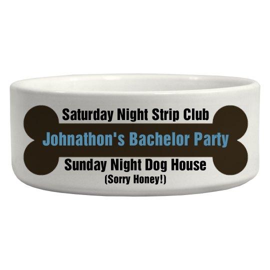 Bachelor Party Prank Bowl