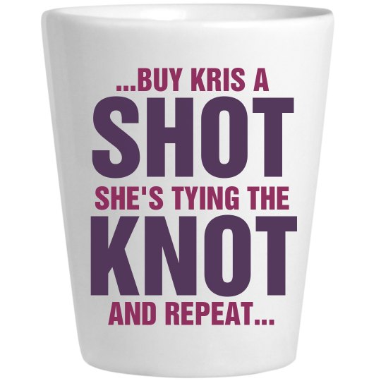 Bachelorette Knot Shot