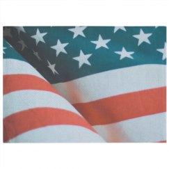 American Flag Print Rug