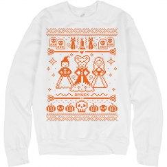 Amuck Ugly Halloween Sweater