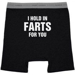 Hold In Farts Funny Valentines