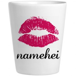 Personalized Shot Glass For Namehei