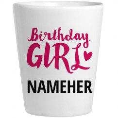 Birthday Girl Nameher Party Gift
