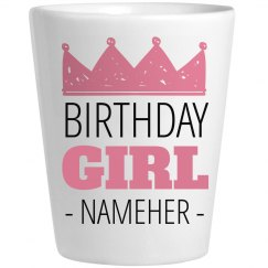 Birthday Girl Princess Nameher