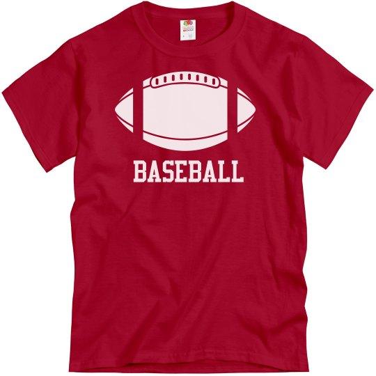 Baseball Wait Football