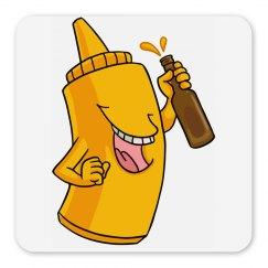 Mustard/Beer Magnet