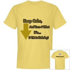 """KNS Personalized Tee 4 DTB """"55"""""""