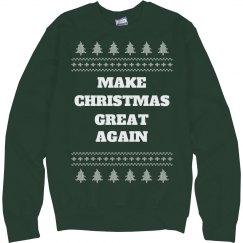 Make Christmas Great Ugly Sweater