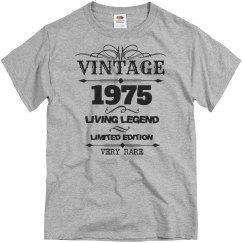 Vintage 1975 living legend very rare