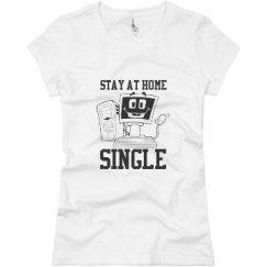 Ladies Slim Fit Basic Promo Jersey Tee