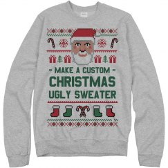Custom Santa Xmas Sweater
