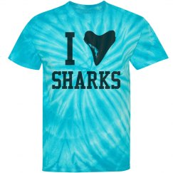 I Heart (Shark Tooth) Sharks