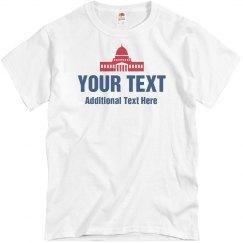 Custom Political Election Shirts