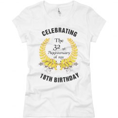 Turning 50 Year Old Birthday Shirt