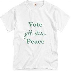 Jill Stein Vote Peace