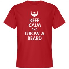 Keep Calm & Grow A Beard