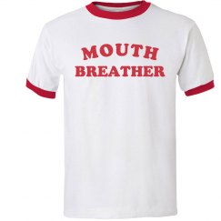 Mouth Breather Ringer Tee 1983