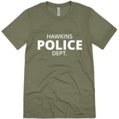 Hawkins Indiana Police Department Shirt