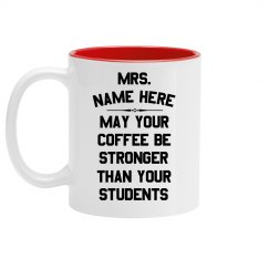 Custom Funny Teachers Mug
