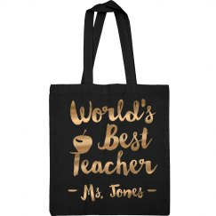 Metallic World's Best Teacher