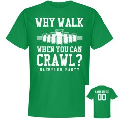 St Patricks Day Pub Crawl Shirts