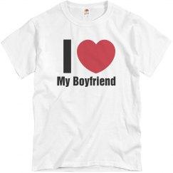 Love Boyfriend T-Shirt