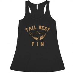 Tall Best Fin Metallic Shark Bff