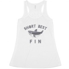 Short Best Fin Metallic Shark Bff
