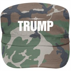 Military for Trump 2016 Star