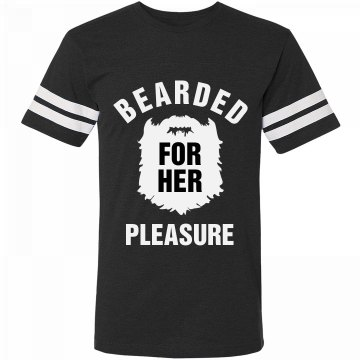 Bearded For The Lady's Pleasure