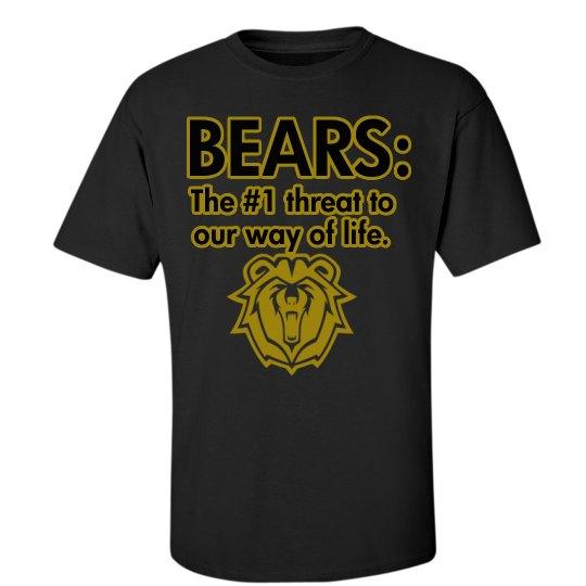 Bears: #1 Threat - Black