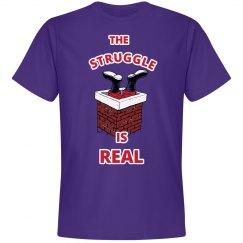 The Struggle is Real Xmas Shirt