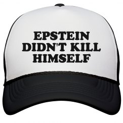 Epstein Didn't Kill Himself Retro Cap
