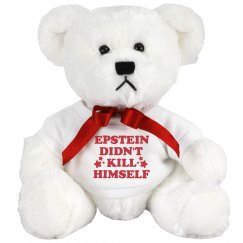 Epstein Didn't Kill Himself Smiling Bear Gift