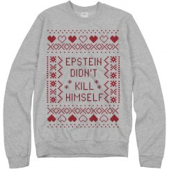 Epstein Ugly Christmas Sweatshirt