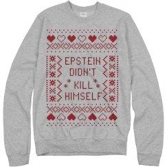Epstein Ugly Christmas Sweatshirt