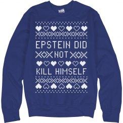 Epstein Conspiracy Christmas Sweatshirt