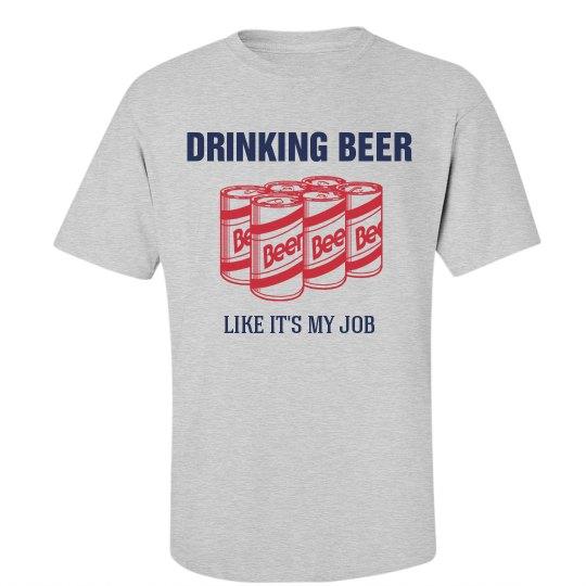Beer Drinking Job