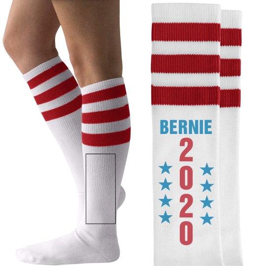 Bernie 2016 Stars on Socks
