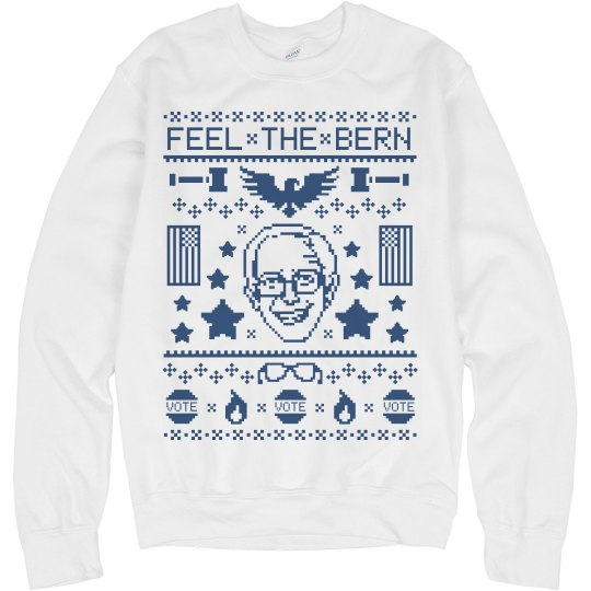 Bernie Has A Sweater