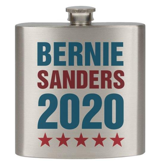 Bernie Sanders 2020Flask