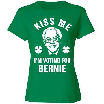 Bernie Sanders St Patricks Girl